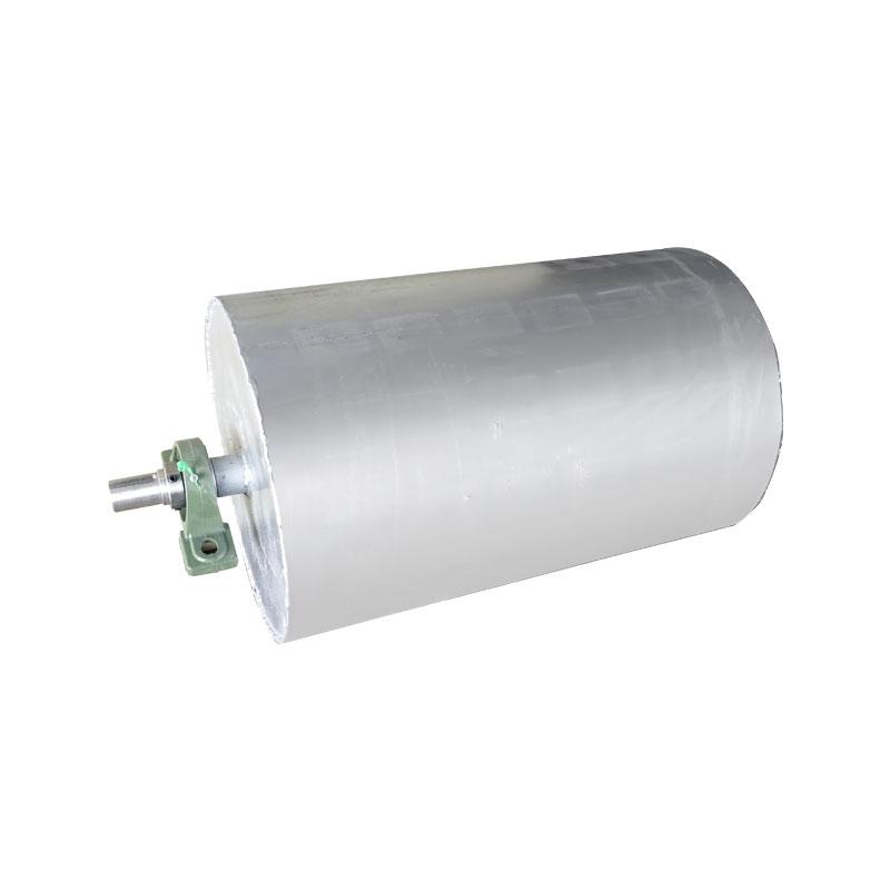 永磁除铁滚筒输送机用磁滚筒